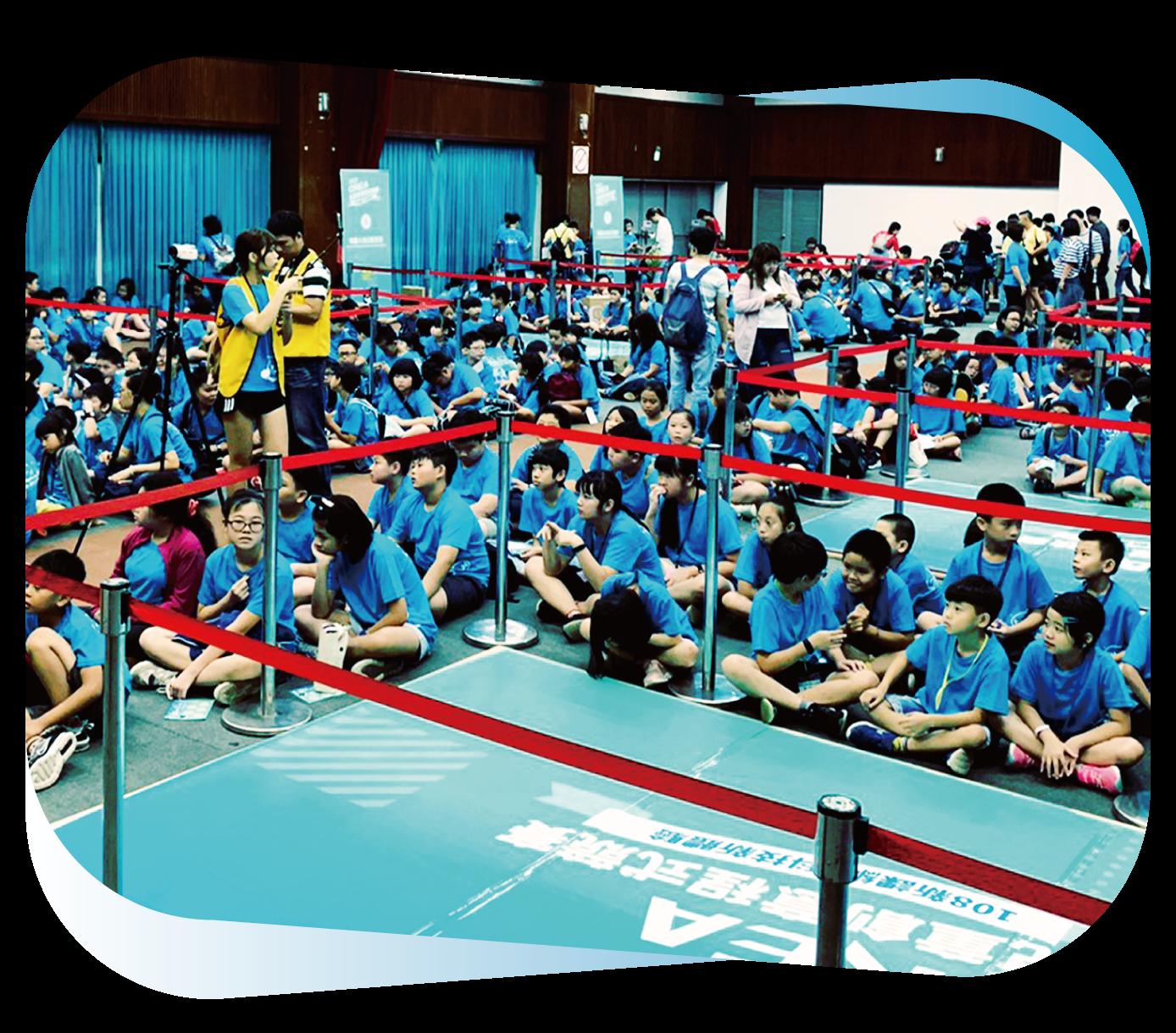 中華機器人教育推廣學會競賽指名使用,全台累計超過 1,000 名學童參賽,競賽過程充分鍛鍊和應用邏輯思考力