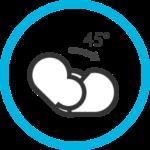 Kebbi Air 凱比關節多、動得巧 ,可獨立控制各自由度角度、速度、加速度,豐富機器人動作庫