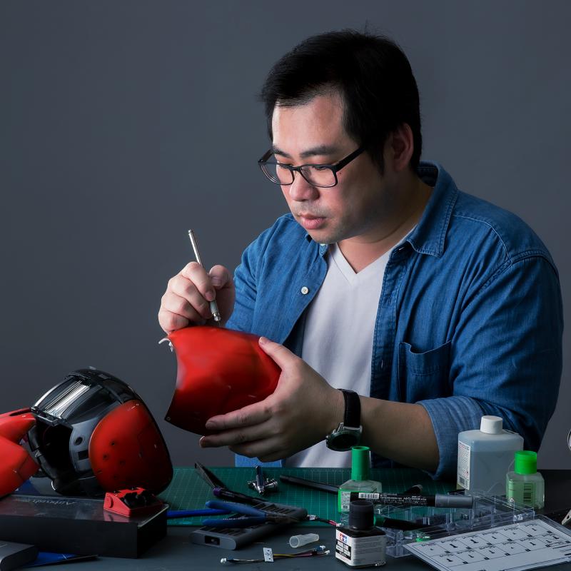 Kebbi Air S – Robot Creator 機器人組裝套件 外觀塗裝 設計模板 (.ai, .pdf),方便你做塗裝計畫。我們也有獨立販售外殼零件,不怕你改壞!