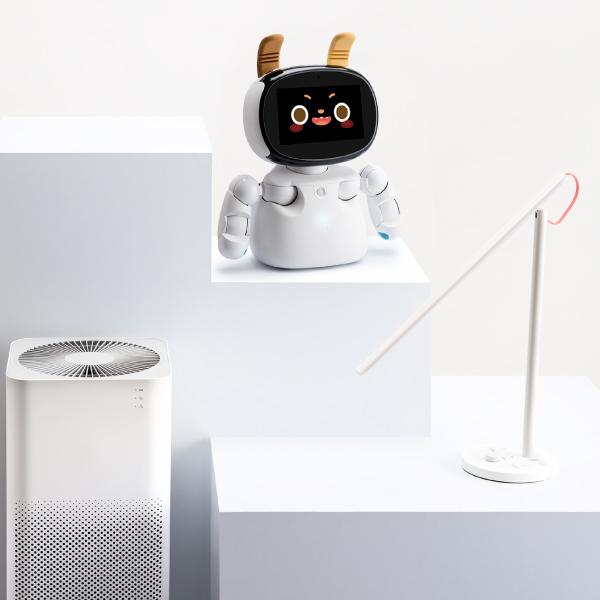 Kebbi Air S 凱比機器人|隨時串連小米家電,語音就能開關家電,便利生活好簡單!
